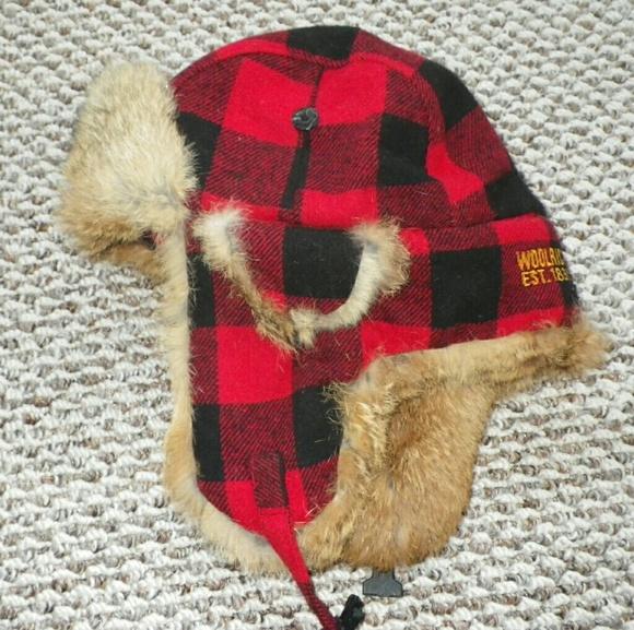 Wool Rabbit Fur Buffalo Plaid Elmer Fudd Hat. M 5ac580a345b30cd9619105f8 8901385f6d99